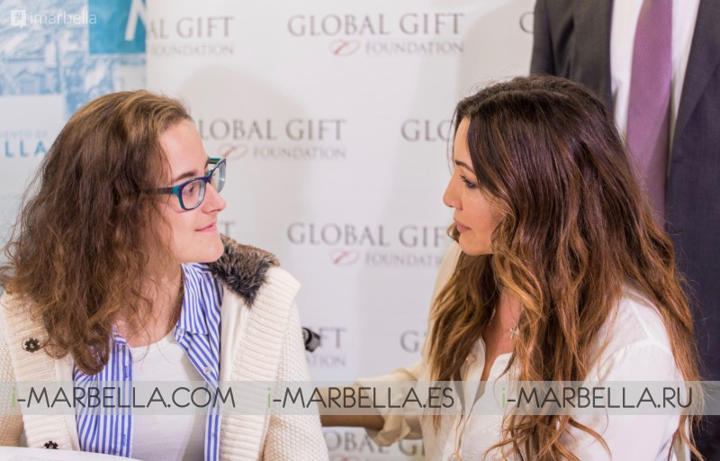 50,000€ raised by Maria Bravo during the 6th edition of The Global Gift Gala in Dubai.