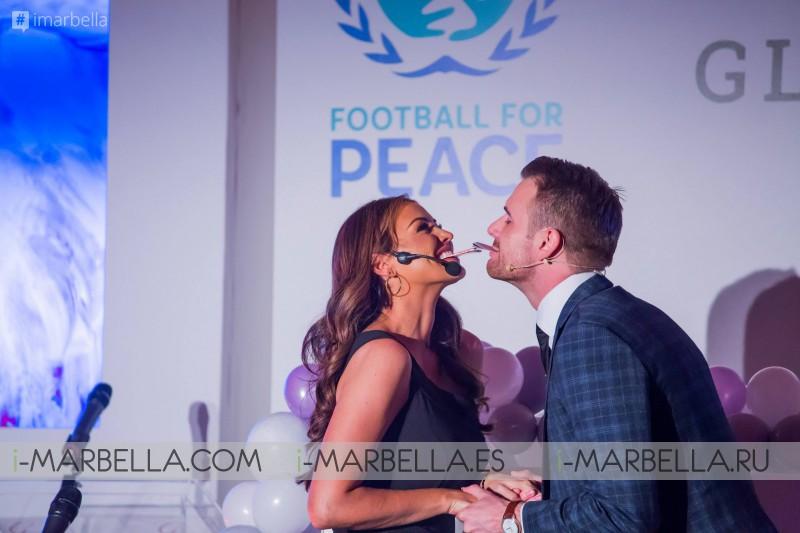 María Bravo, fútbol para la paz y global gift @ Londres, 9 de abril de 2019