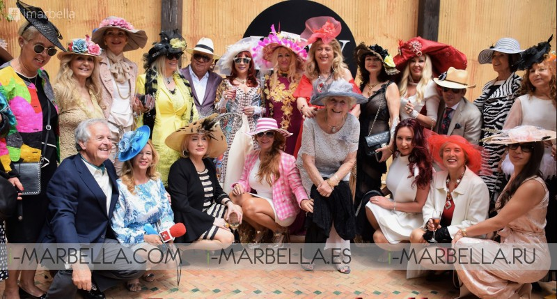 Wonderful Hat Spring Party Organized by Kristina Szekely @LØV Olivia Valere Marbella 2019