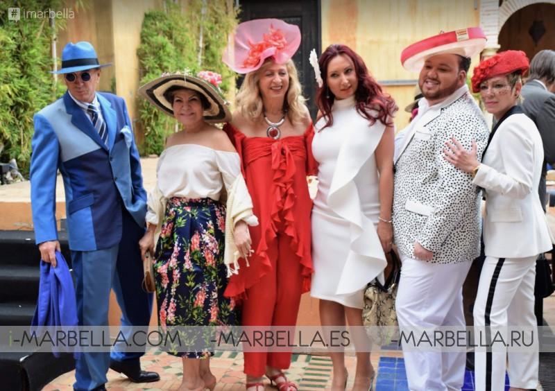 Wonderful Hat Spring Party Organized by Kristina Szekely @LØV Olivia Valere Marbella 2019