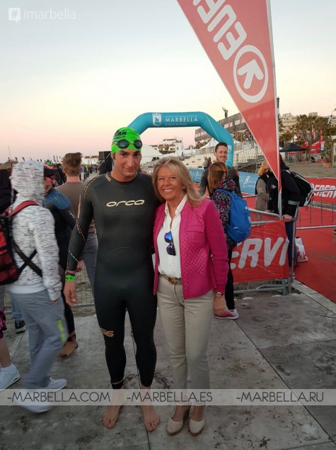 Ironman Mr Manzur finished 70.3 Ironman Marbella 2019