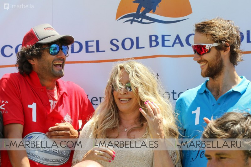 Perlage Team won II Edition of the Cost del Sol Beach Polo Cup @ Estepona May 2019
