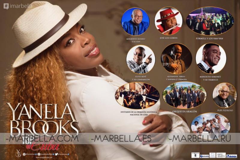 Yanela Brooks Feat. Top of Cuba @Havana 2019