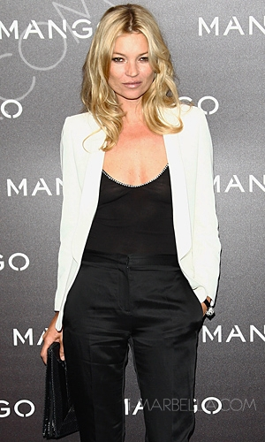 Kate Moss Signs For Spain's Mango