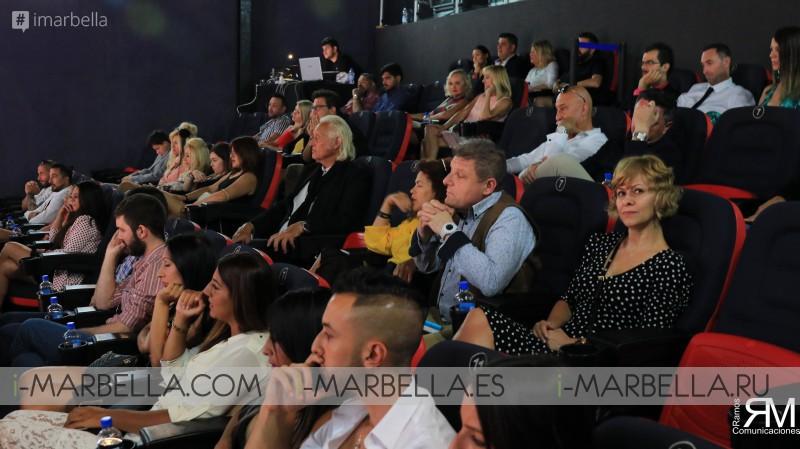 Clausura III Edición Festival Cine Marbella - Junio 2019