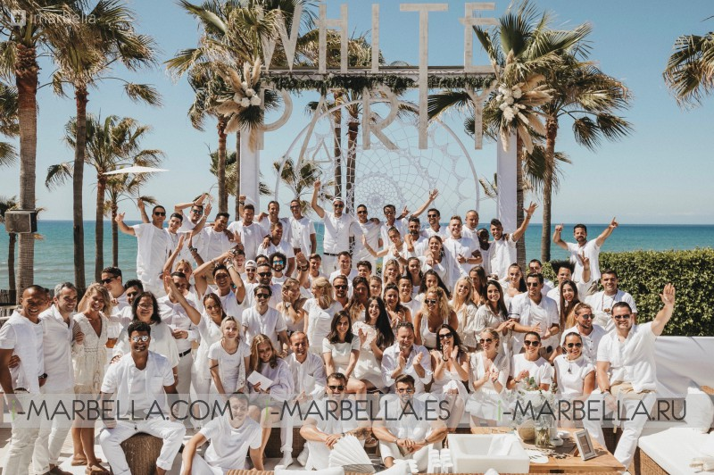 16th Nikki Beach Marbella's White Party Rocks again @Gallery 2019