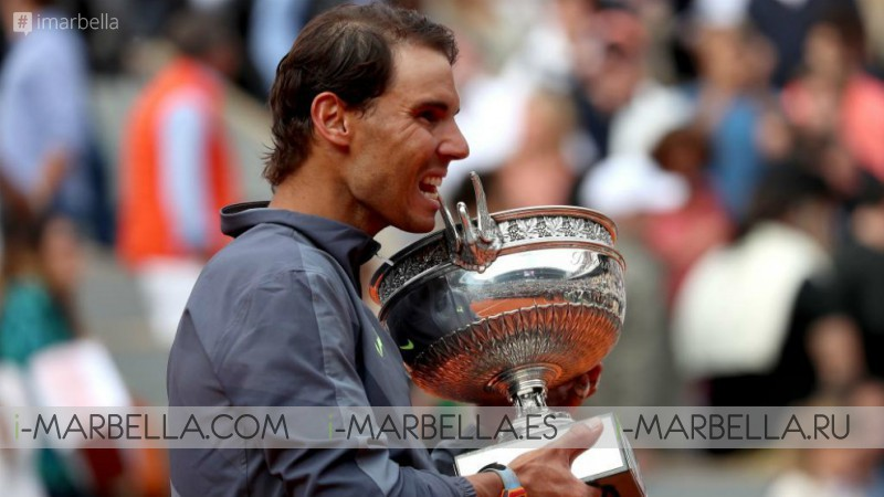 Overwhelming victory! Rafael Nadal takes the first place at Roland Garros once again, French Open 2019