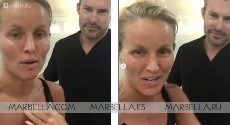 'I'm super happy with my results'. Davinia Taylor About Dr. Kaye @Ocean Clinic Marbella 2019