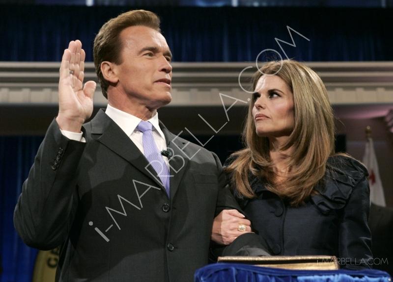 Arnold Schwarzenegger begging wife