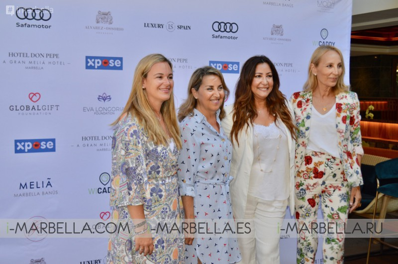 VIII Global Gift Philanthropic Weekend Opens with the Marbella Fashion Show @ Marbella July 11-12, 2019