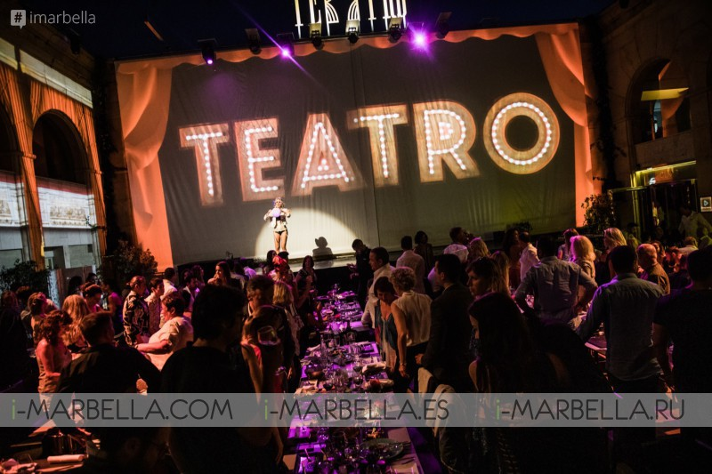 Teatro Marbella the impressive show with dinner on the Costa del Sol July August every night 2019