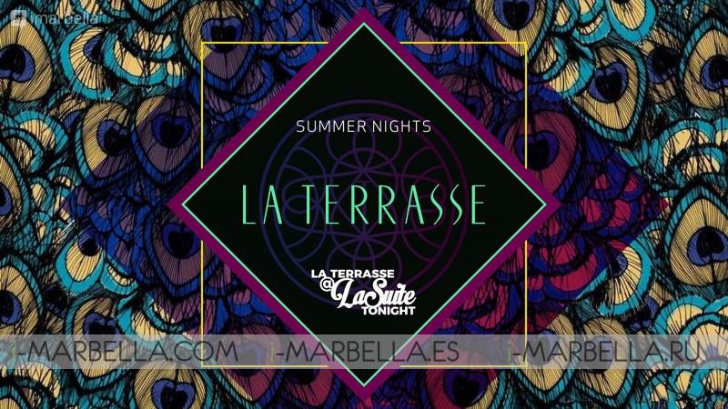 Every Summer nights @ La Suite Club @La Terrasse @Nobu Lounge Marbella 2019