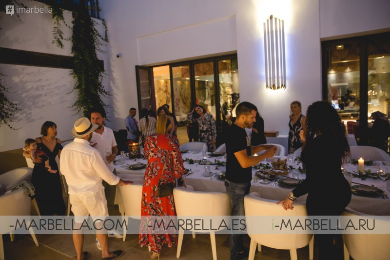 Eva Longoria assisted Döss Marbella Restaurant Private Party July 2019
