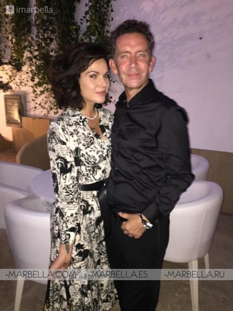 Eva Longoria assisted Döss Marbella Restaurant Private Party July 2019