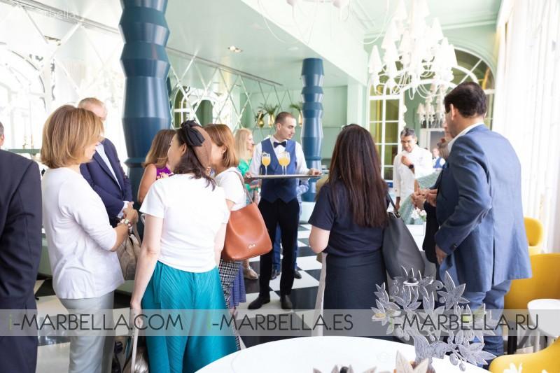 Two Michelin stars Paco Roncero open restaurant 'O' at Anantara Villa Padierna Palace Resort in Marbella, Spain 2019