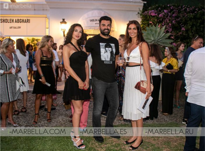 Sholeh Abghari Art Gallery opened its doors in Marbella July 2019 Gallery