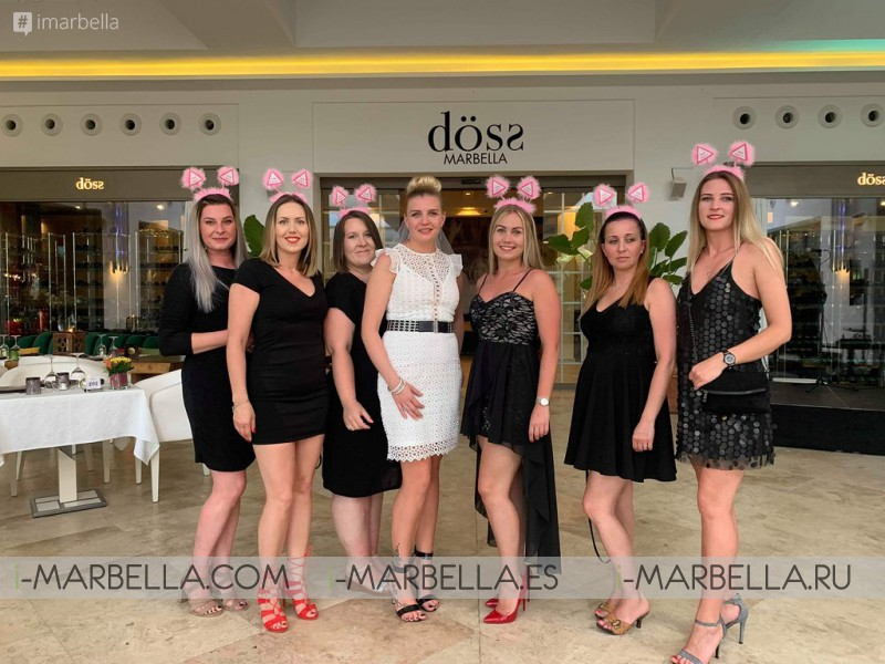Döss restaurant celebrates its first anniversary as a new gastronomic hotspot in Marbella, August 2019