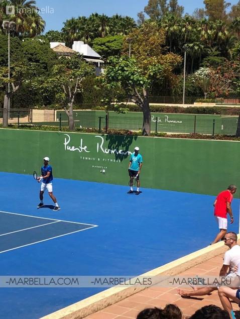 Novak Djokovic back in Marbella for Holidays with Jelena and training @Puente Romano Marbella 2019