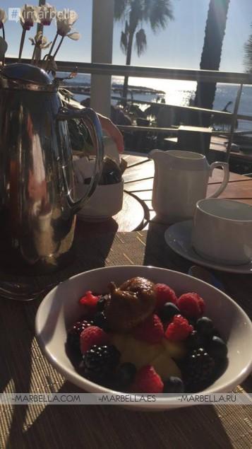 Sea Grill Black Summer Truffle Menu @ Marbella, August 2019