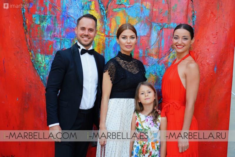 Victoria Bonya, Yanela Brooks at the Starview Top Awards 2019 @Besaya Beach Marbella Gallery