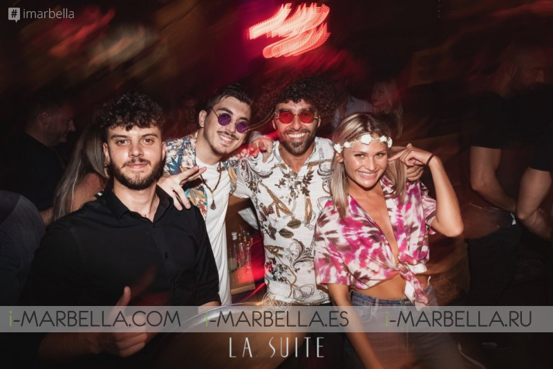 Flower Hippy Chic Power Party in @ La Suite Club Marbella 10, August 2019 Gallery
