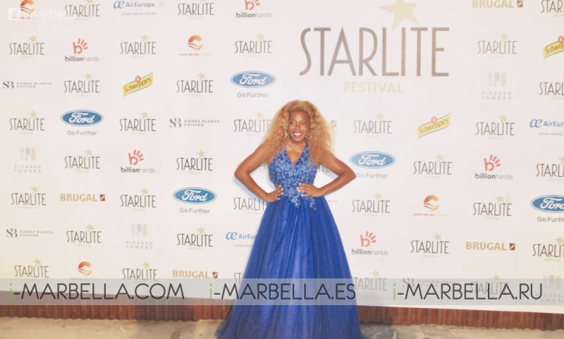 The Real Diva of Marbella Yanela Brooks in @Startlite Festival with Juan Peña August 2019 Gallery