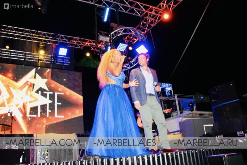The Real Diva of Marbella Yanela Brooks in @Startlite Festival with Juan Peña August 2019 Gallery