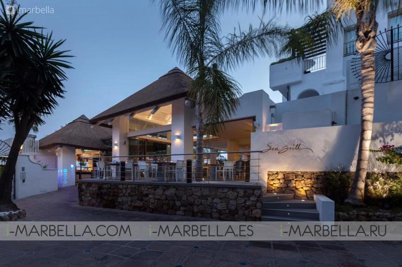 Sunday brunch buffet @ Sea Grill Marbella during September, 2019