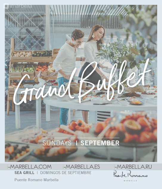 Sunday brunch buffet @ Sea Grill Marbella during September, 2019