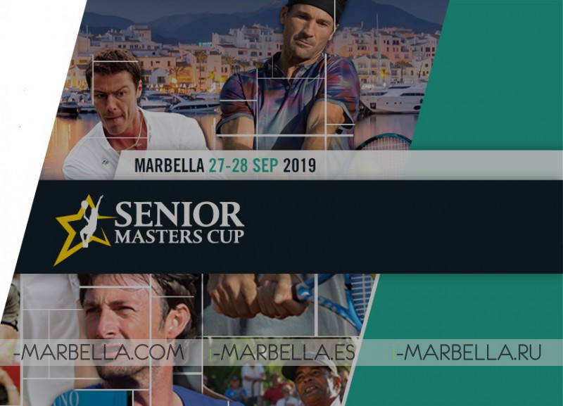 The Senior Masters Cup returns this 27th and 28th of September to Club Puente Romano Tennis Club