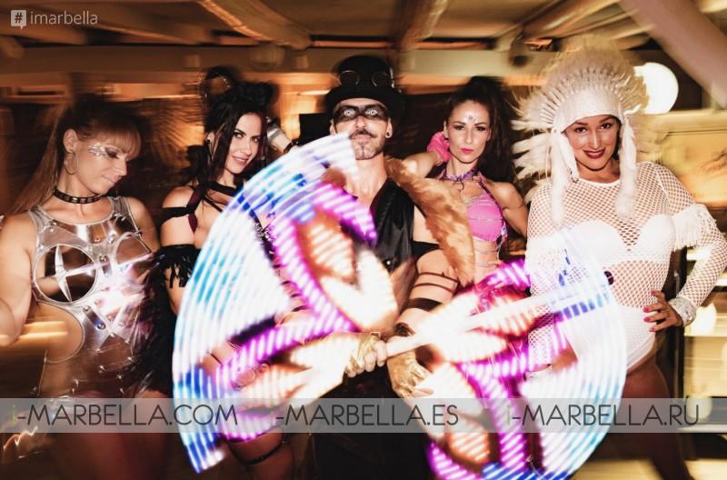 Burning Heart Party @El Chiringuito Puente Romano Marbella August 2019 Gallery