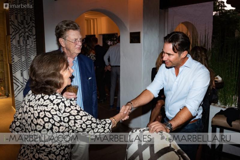 Daniel Shamoon Bahamas fundraising dinner raised 50.000 €  @Nobu Marbella September 2019, Gallery