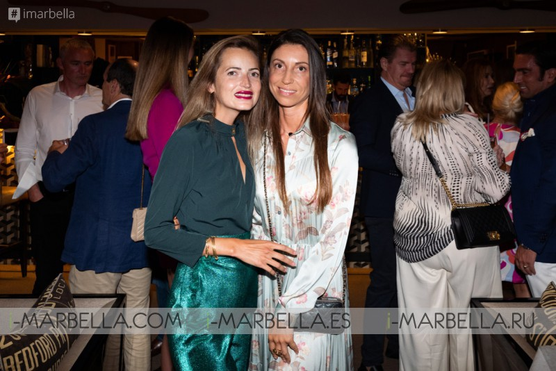 Daniel Shamoon Bahamas fundraising dinner raised 50.000 €  @Nobu Marbella September 2019, Gallery