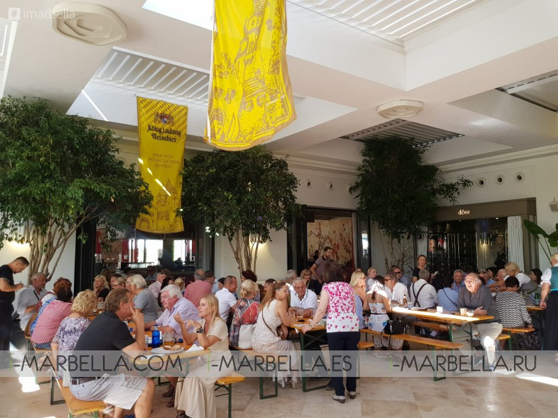 Tradition, Good Food, Beer & Fun in the Oktoberfest @ Döss Restaurant Marbella September 2019 Gallery