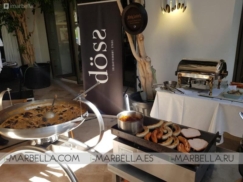 Tradition, Good Food, Beer & Fun in the Oktoberfest @ Döss Restaurant Marbella September 2019 Gallery