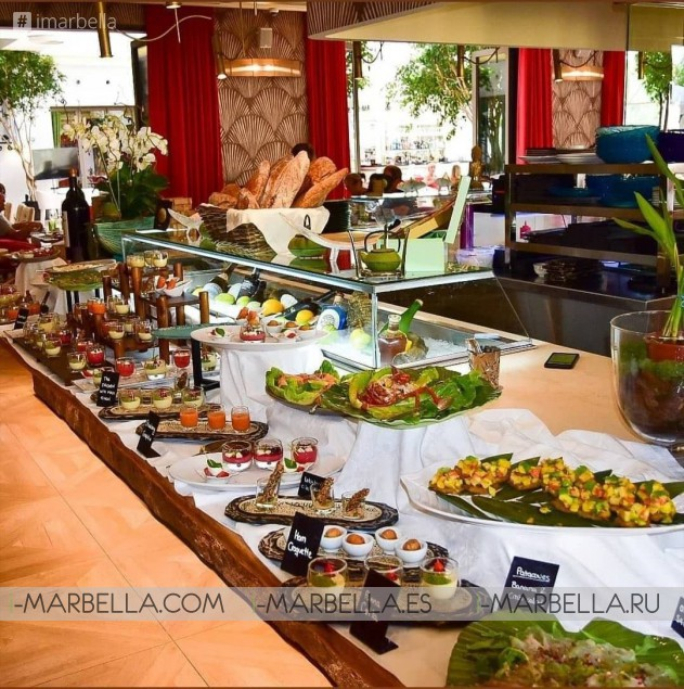 Sunday Brunch at Döss Restaurant Marbella! Every Sunday from 13:00 to 17:00