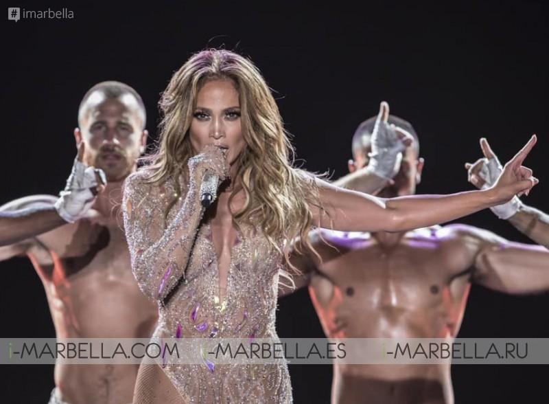 Jennifer Lopez stayed 4 days before
