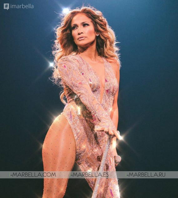 Jennifer Lopez stayed 4 days before