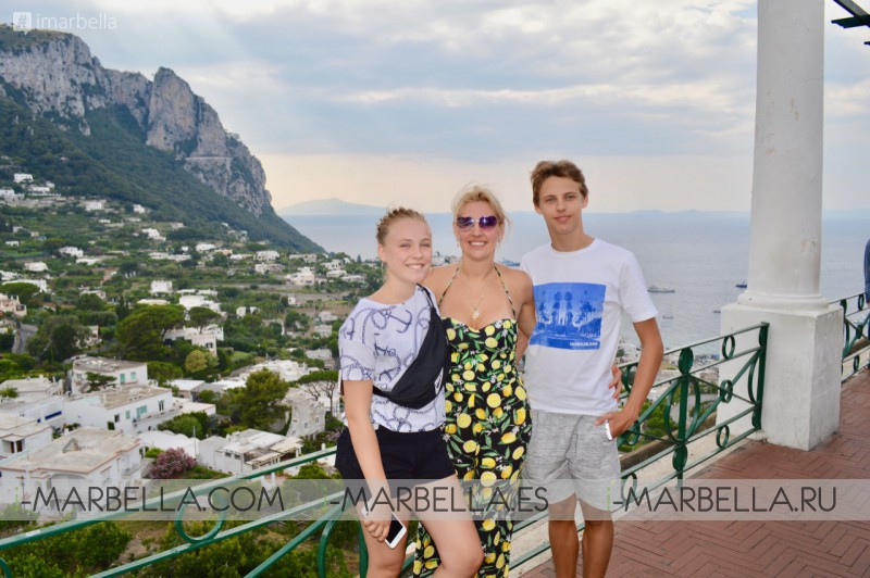 Annika Urm Blog: Dream Holiday With My Family at Capri, Positano by Yacht Acustica 2019