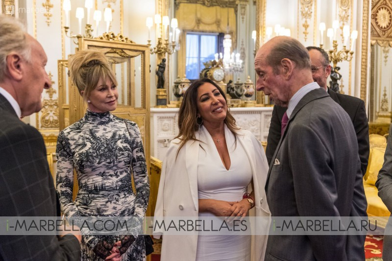 Maria Bravo, Eva Longoria, Melanie Griffith, Paloma Faith at the X Global Gift Gala London 2019