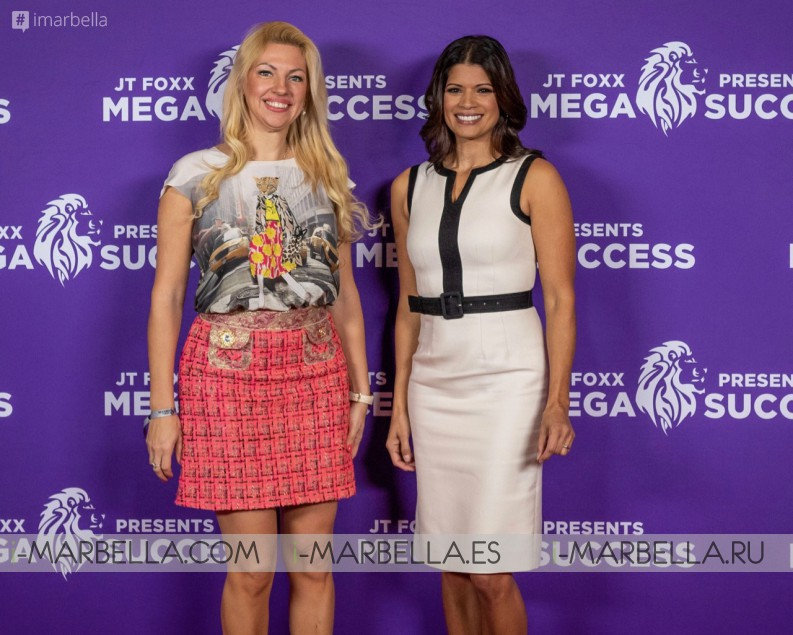 Annika Urm shared the stage with Gary Kasparov, Jay Abraham, Gabriel Macht, Dolph Lundgren, JT Foxx, Vince Vaughn, Moira Forbes, Hugh Hilton, Dr Phil at Mega Success Los Angeles