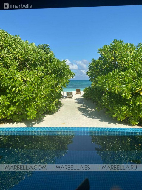 Karina Miller BLOG 20: The paradise in the Maldives