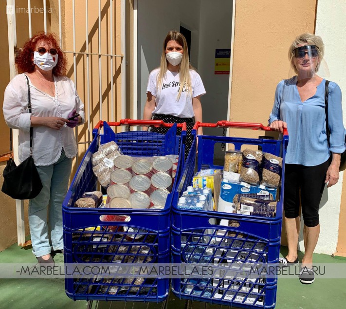 Rotary Club Mijas helps homeless, supports ADINTRE, Food Bank with increasing food problem, inviting volunteers to help @Mijas 2020