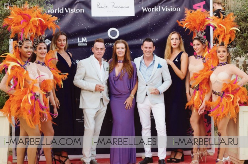 Join us at World Vision's 8th Annual Gala Dinner at Puente Romano Sea Grill Restaurant Marbella August 20, 2020