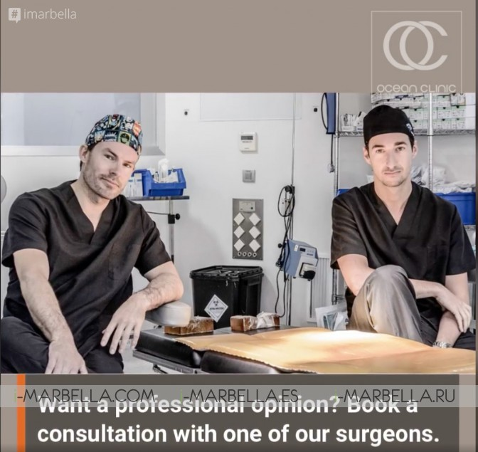 Ocean Clinic Marbella Dr Kai Kaye TOP 5 Latest Cosmetic and Plastic Surgery Trends @2020