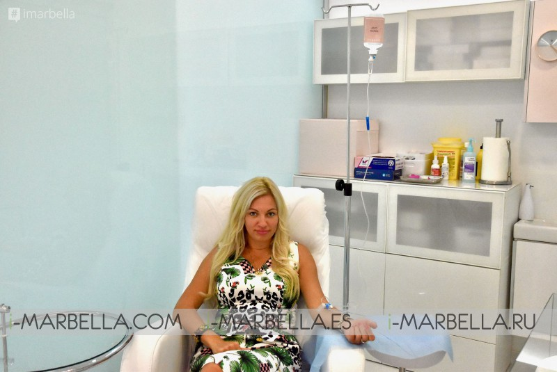 Annika Urm Vitamin IV Therapy experience at Vit&Drip Center Marbella: beyond  my expectation