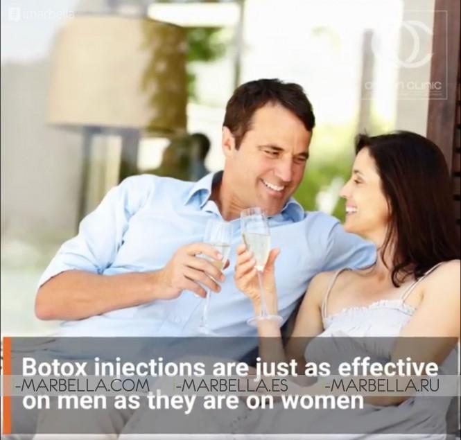 Should Men Get Botox? - Ocean Clinic Marbella Madrid Zürich @2021 Aesthetic Medicine
