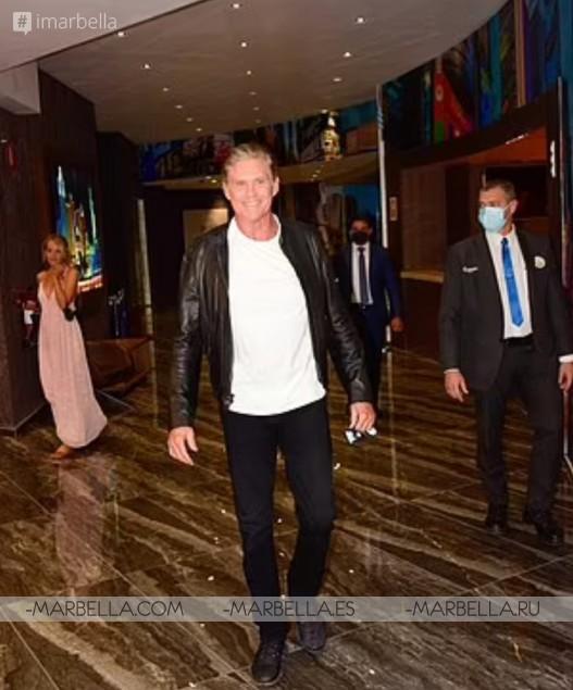 David Hasselhoff spotted in Marbella after met KITT again in Sevilla Spain July 2021