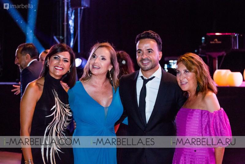 Luis Fonsi, Amaury Nolasco, Maria Bravo, Gary Dourdan at Global Gift Gala Marbella 2021 GALLERY