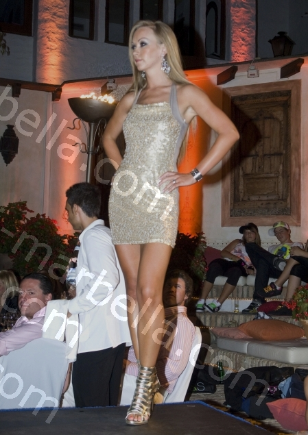 Starlet Fashion Show at Puente Romano Hotel, Marbella
